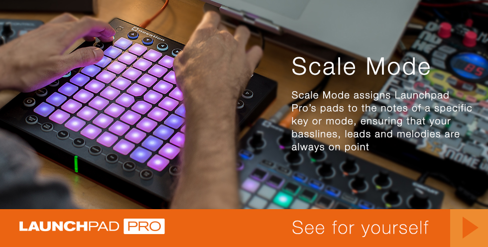 Launchpad Pro Scale Mode
