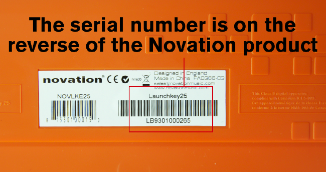 Serial Number Description