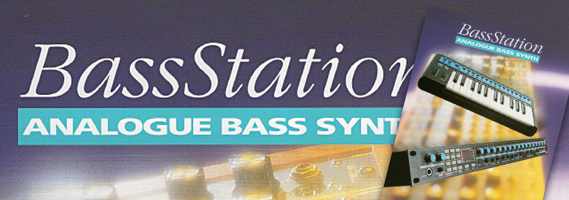 Bass Station and Bass Station rack brochure image
