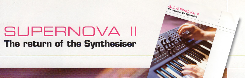 Image from the original SUPERNOVA II brochure